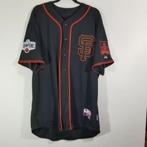 NWOT 2014 Giants World  Series Jersey